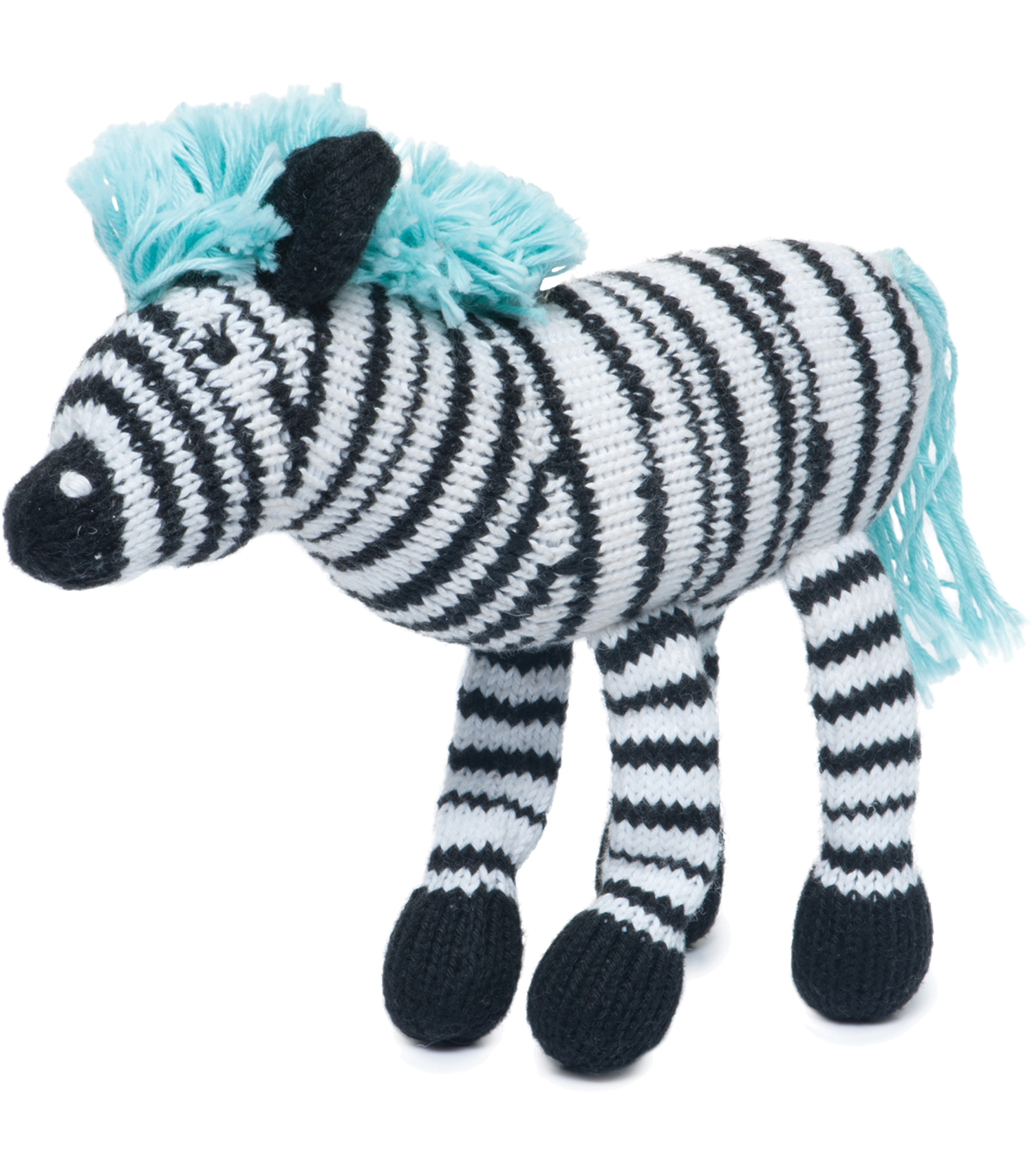 Rattle Buddy Daisy the Zebra