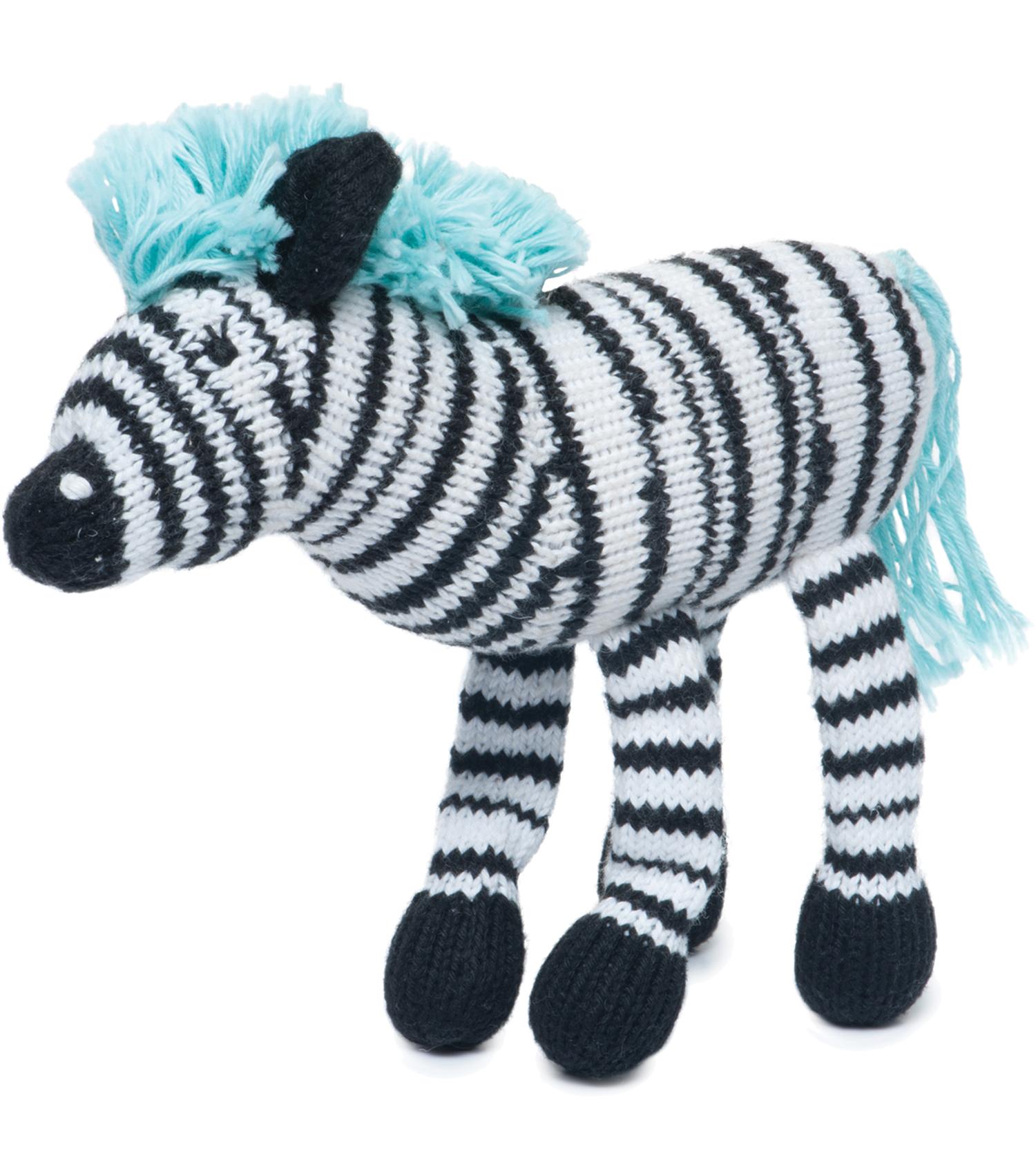Rattle Buddy Daisy the Zebra