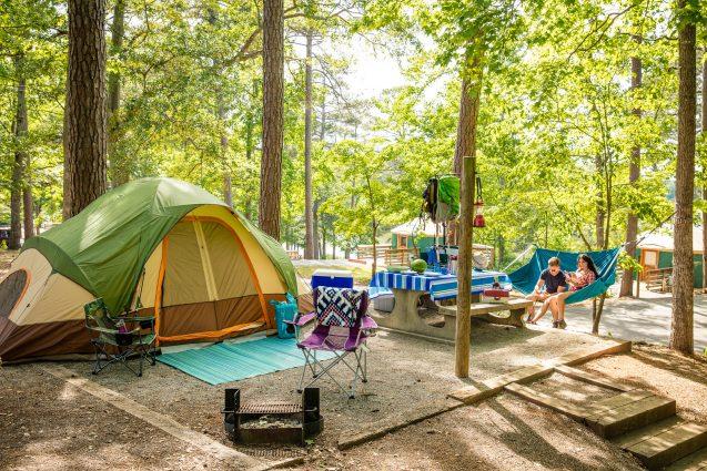 AmeriCorps First Time Camper Program, High Falls State Park, GA