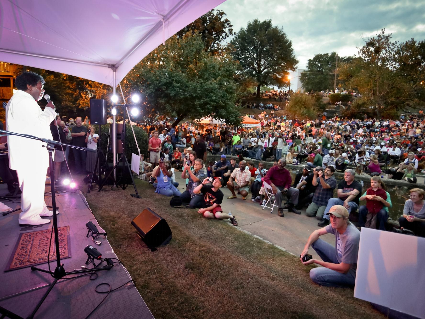 Second Sunday Concert, Coleman Hill Park, Macon GA