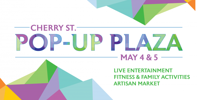Pop-Up Plaza, Macon GA, Cherry Street Plaza