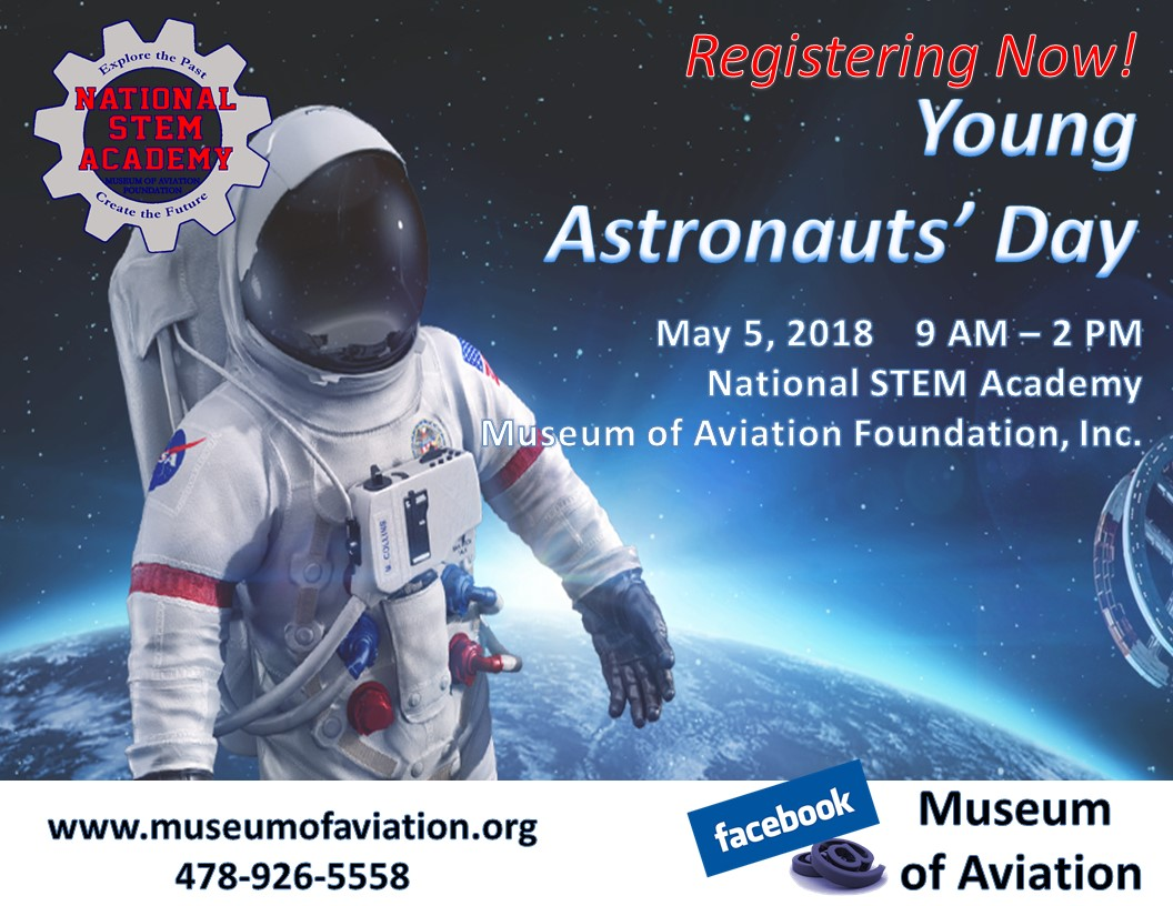 Museum of Aviation, Young Astronauts Day 2018