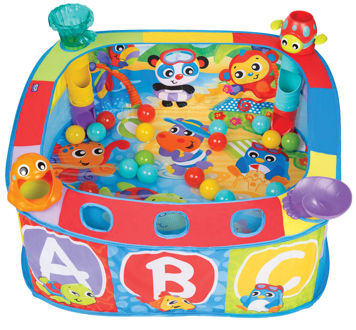 Playgro Pop and Drop Activity Ball Gym
