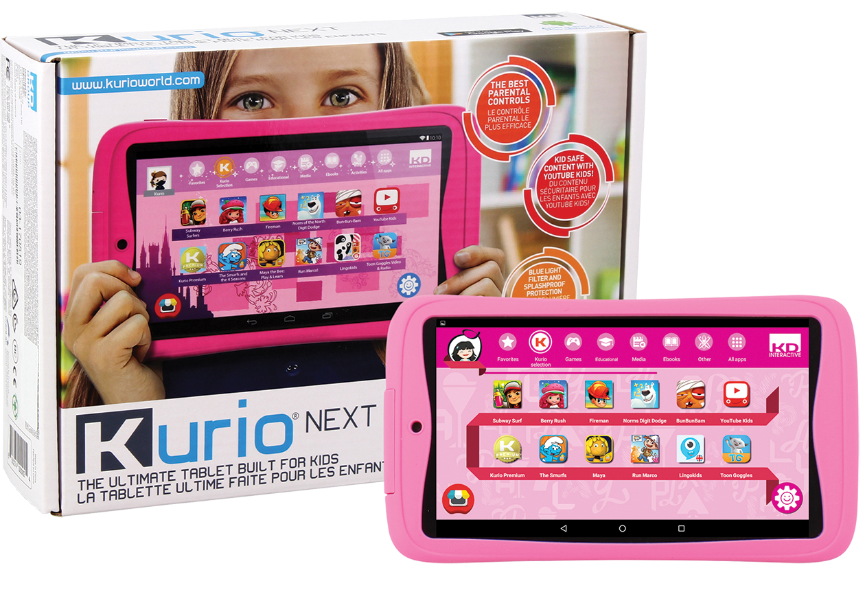 Kurio Next, Kids tablet
