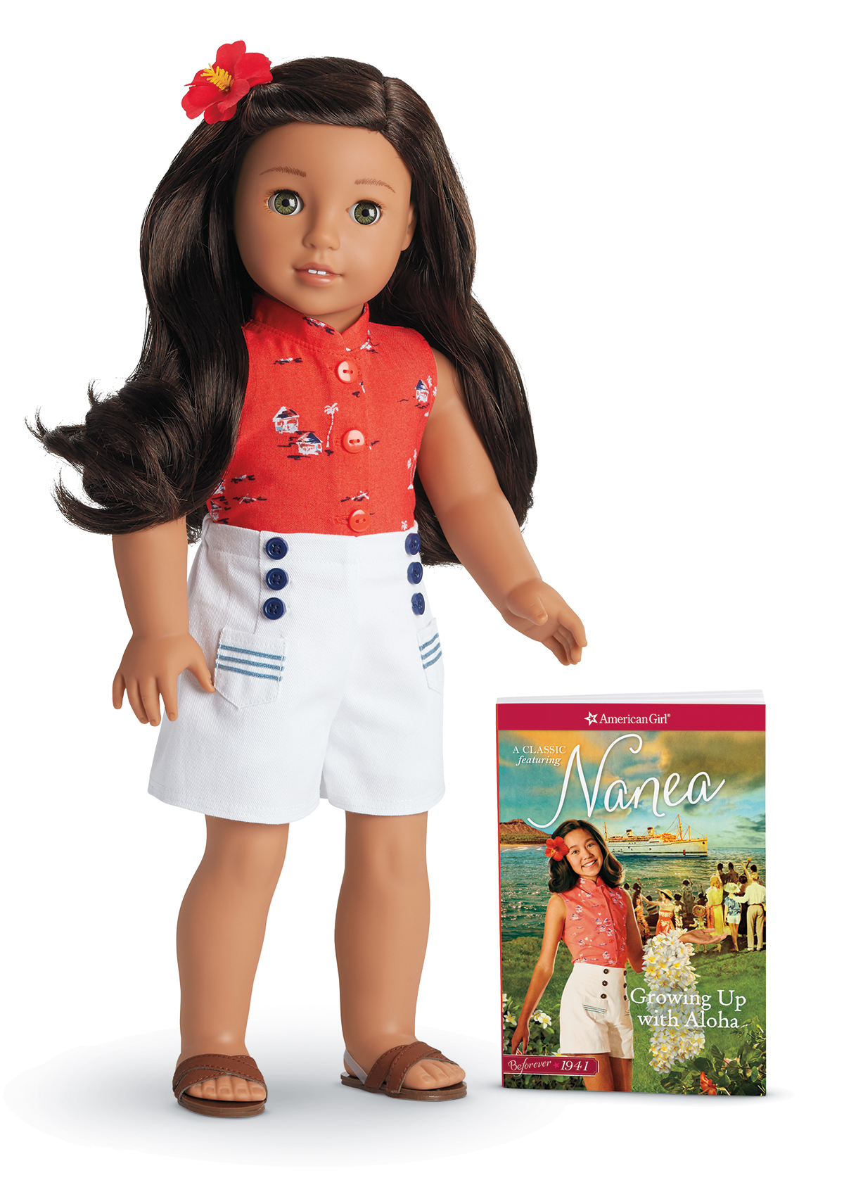 Nanea Mitchell Doll & Book