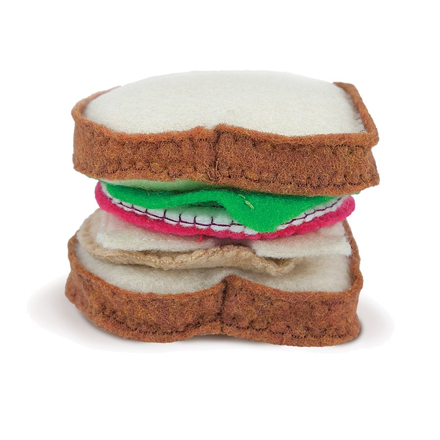 "Noshkins ""Sammich"" Toy Set"