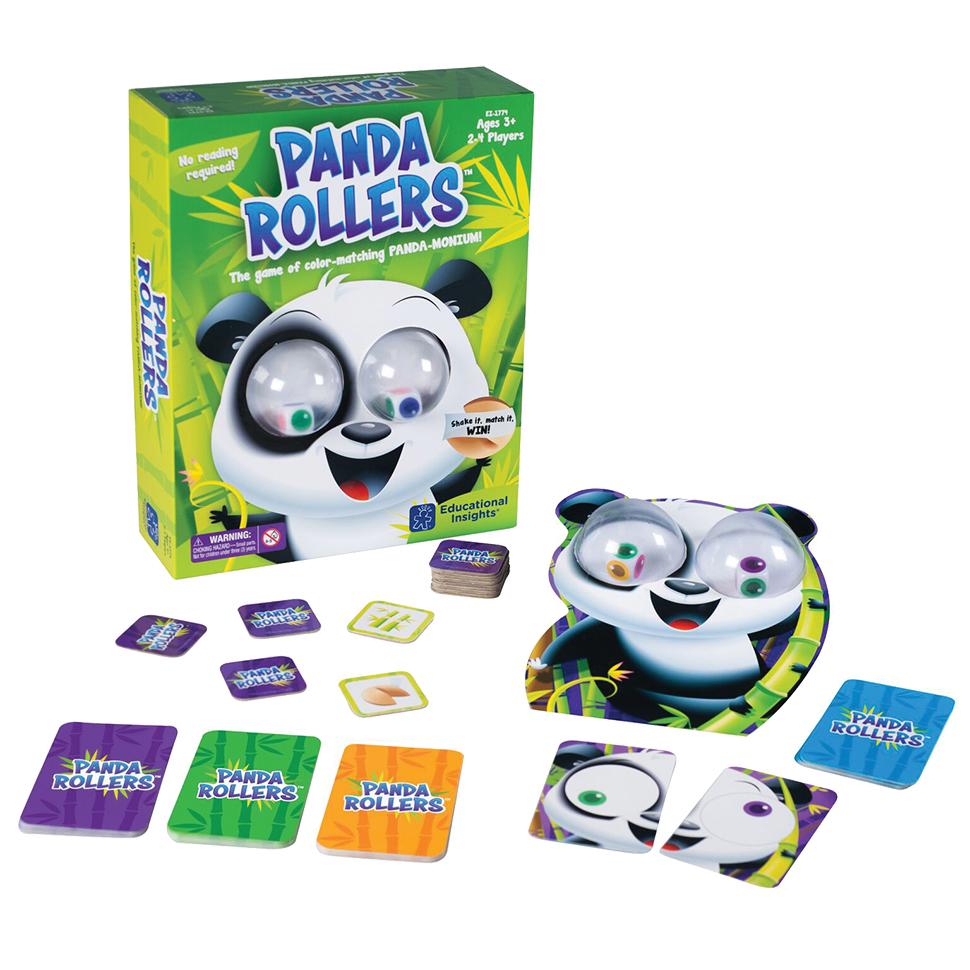 Panda Eye Rollers Game