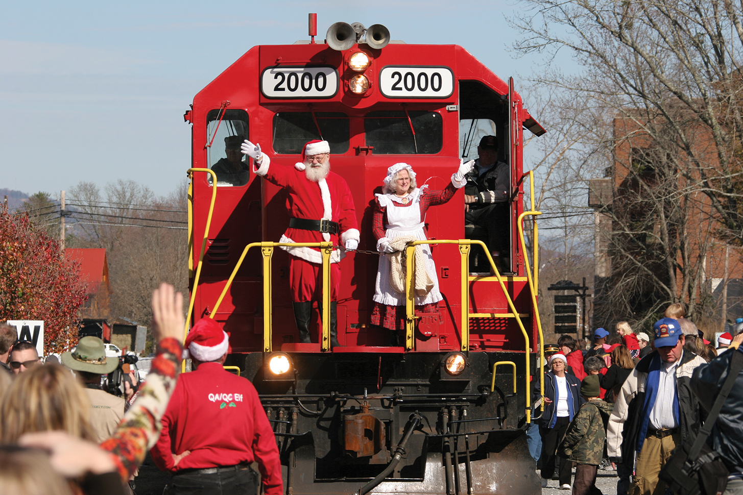 SAM Shortline Santa Train
