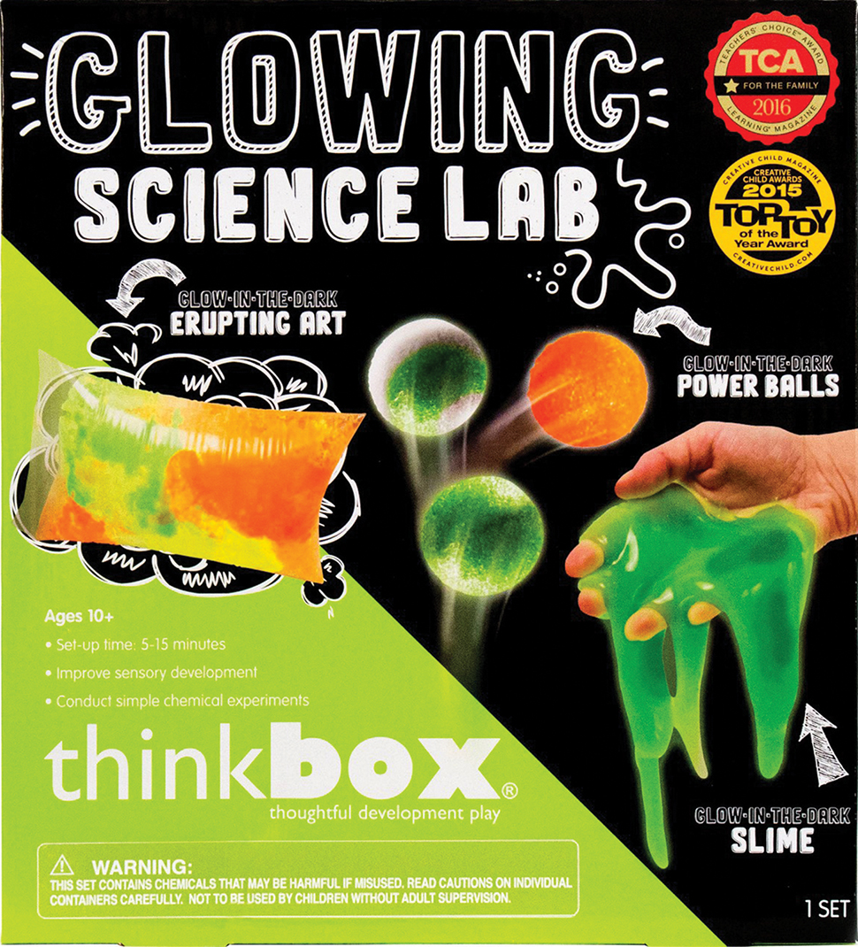 GLOWING SCIENCE LAB