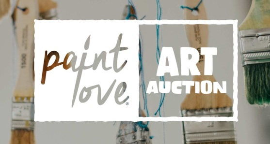 Paint love art auction