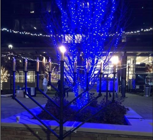 Sparkle Sandy Springs Christmas Tree Menorah Lighting
