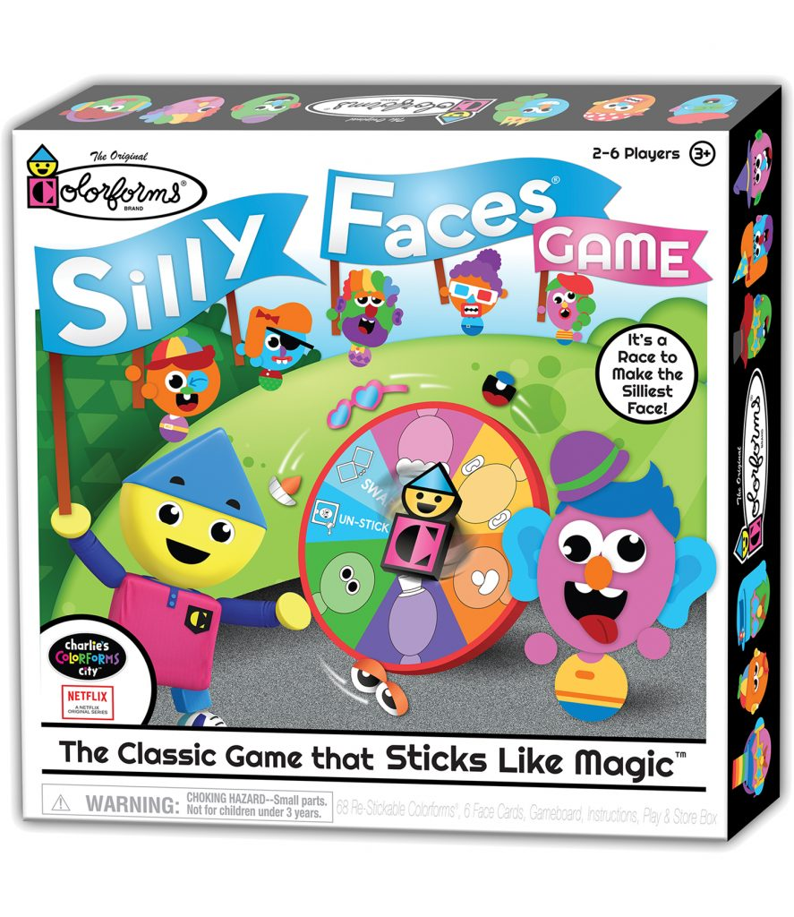 Colorforms Silly Faces
