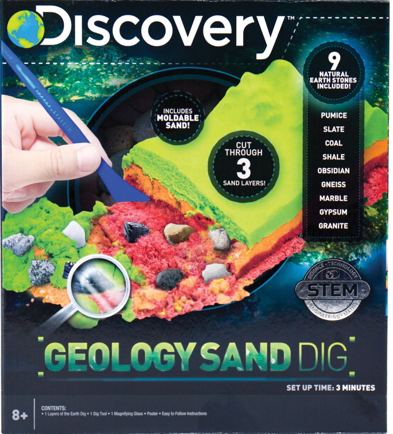 Discovery Geology Sand Digf