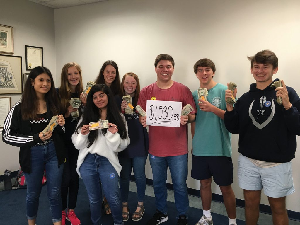 Stratford's Key Club Raises $1,530 for the Ronald McDonald House
