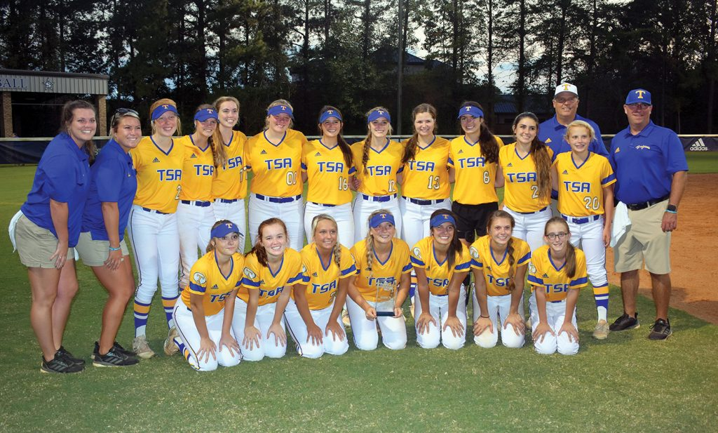 Tattnall Varsity Softball Wins Region